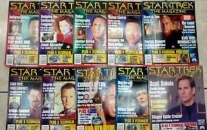 Star Stret The Magazine Enterprise Costumes Collectible Issues Lot 10
