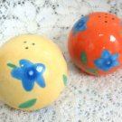 Avon Salt & Pepper Shakers Bright Decorative Vintage Collectible