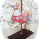Avon Horse Carousel Collectible