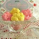 Avon Flower Basket Soap Dish & 5 Hostess Soaps NEW!