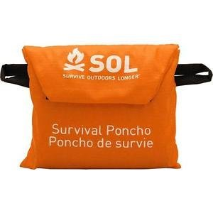 Survive Outdoors Longer Survival Poncho