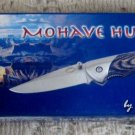 Frost Cutlery Mohave Huntress Stainless Steel Blade w/ Thumb Stud  Knife