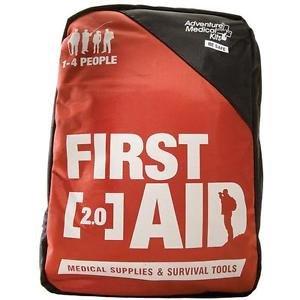 Adventure First Aid, 2.0, Orange/Black
