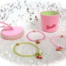 Barbie Beaded Bracelets Set - (NEW)