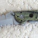 Frost Cutlery Camouflage Stainless Steel Blade w/ Thumb Stud Tactical Knife
