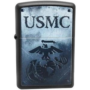 Black Matte, US Marine Shield