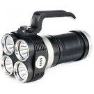 EYE40 Rechargeable Flashlight, Black, 3150 lm, 4x 18650