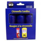 9-Hour Candles, Citronella, Blue, 3pk