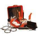 Survival Kit, Resealable Poly-Bag, Orange