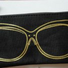 Avon Sunglasses Black Case Bag