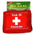 Coghlan Trek III Soft Pack First Aid Kit Red