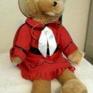 "Chantilly Lane Stuffed Singing Bear ""Never Ending Song of Love"""
