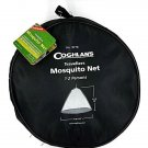 Coghlan Travellers Mosquito Net with Carry Bag Black