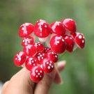 Garden Micro Landscape DIY Red Foam Mushroom Decorations