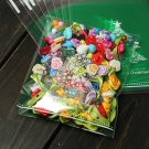 10pcs Christmas Tree Clear Cellophane Cookie Wedding Candy Party Bags