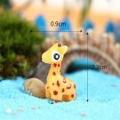DIY Miniature Lovely Giraffe Ornaments Potted Plant Garden Decor