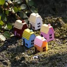 DIY Miniature Country House Ornaments Potted Plant Garden Decor