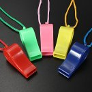 Sports Whistle Football Rugby Hockey Referee Plastic & Neck Wrist