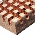 Copper Heatsink Cooling Easy Install For Raspberry Pi