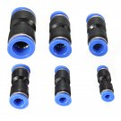 Pneumatic Push In To Connect Air Water Fitting Hose Tube 4mm-16mm