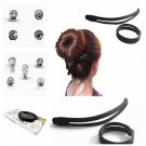 Black Hair Clip Hairpin Elegant Magic Styling Tools Accessories