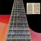 1pc Guitar Fretboard Note Sticker Musical Scale Label Beginner Decal