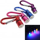 4 Colors Dog Cat Pet Safety Flash LED Light Collar Tag New Rose
