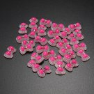 30pcs 3D Nail Art Tips Decoration Acrylic Crystal Bowknot Rhinestones