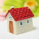 Resin Mini House Micro Landscape Decorations Garden DIY Decor