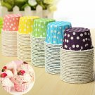 20pcs Colorful Cupcake Greaseproof Dessert Baking Cups