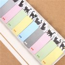 Mini Cartoon Animal Sticker Memo Post It Bookmark Sticky Notes