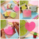 Lovely Memo With Cover Post It Bookmark Flags Tab Sticky Notes Random