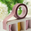 5M Glitter Washi Paper Tape  Scrapbook Decorating Adhesive Paper Tape