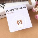 Lovely Puppy House Bookmark Sticker Memo Mark Tab Sticky Notes