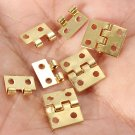 5pcs Mini Metal Hinges For 1/12 Dollhouse Miniature Furniture