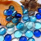 10X Gorgeous Glass Marbles 14mm Beads Balls Fish Tank Decoration