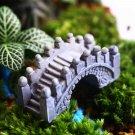 Eco Bottle Decorations Stone Bridge Garden Micro Landscape