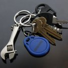 Creative Mini Tool Model Wrench Spanner Key Chain Ring