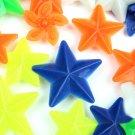 48pcs Bike Wheel Spoke Colorful Star Decoration Bead Reflector