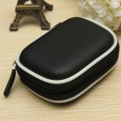 EVA Shockproof Earphone Headset Earpiece Case Cover Memory Card Storage Box Bag