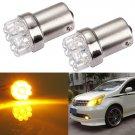 Car 1156 Tail Brake Turn Signal 9 LED Bulb Lamp Light BA15S