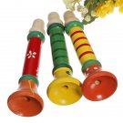 Baby Musical Wooden Trumpet Child Instruments Toy