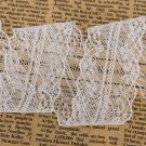 10 Yard White Lace Trim Ribbon Home Party Wedding Decoration