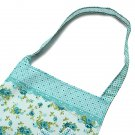 Rose Floral Bowknot Women Girls Apron With Pocket