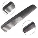 Black Plastic Unisex Hair Space Tooth Comb Pocket Durable Portable Salon Barber