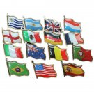 Football World Cup National Flag Badge Country Badge