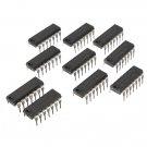 10Pcs SN74HC14N 74HC14 IC Chip DIP-14 Six Inverting Schmitt Trigger