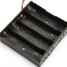 Plastic Battery Storage Case Box Holder For 4 x 18650 Battery