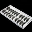 10 Pairs Long Black False Eye Lash Eyelashes Makeup
