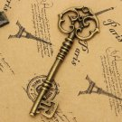 Vintage Punk Style Old Look Key Bow For Jewelry Making DIY